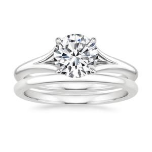 Marcella Engagement Ring Set By Lucce Rings Supernova Moissanite