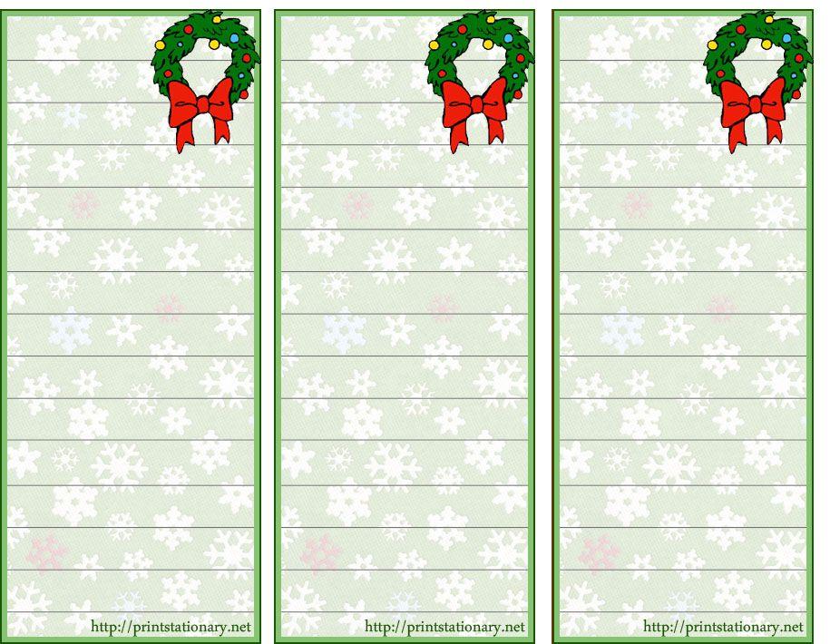 free printable Christmas to do lists, Deck the Halls Pinterest - free printable christmas lists