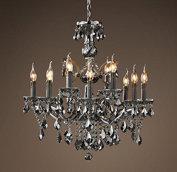 19th c rococo iron crystal chandelier medium smoke gorgeous 19th c rococo iron crystal chandelier medium smoke gorgeous gorgeous gorgeous mozeypictures Gallery
