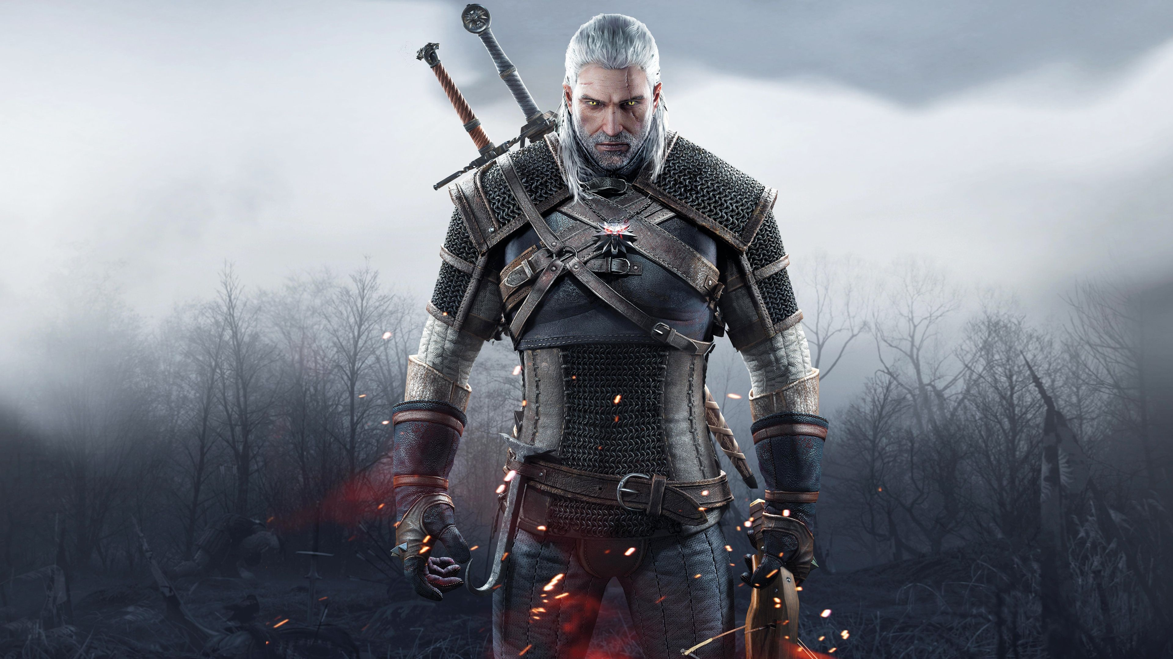 Witcher 3 Wild Geralt Of Rivia Ultra Hd 4k Wallpapers Witcher Wallpaper The Witcher 3 Witcher
