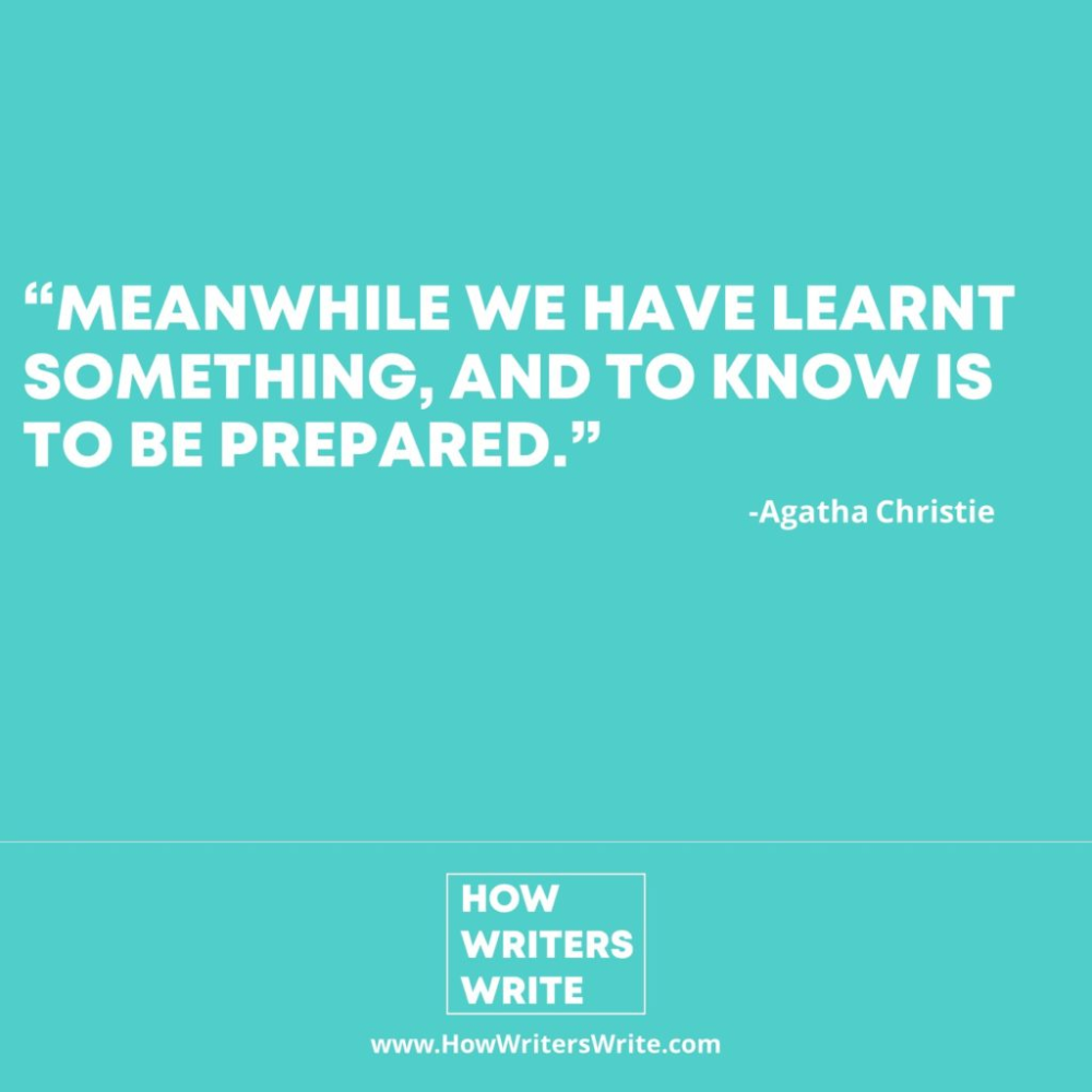 Agatha Christie Inspirational Content How Writers Write Agatha Christie Writers Write Writer