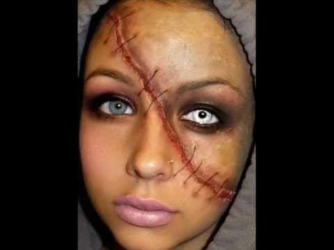 Halloween Series 2011 Split Face Makeup Tutorial With Images
