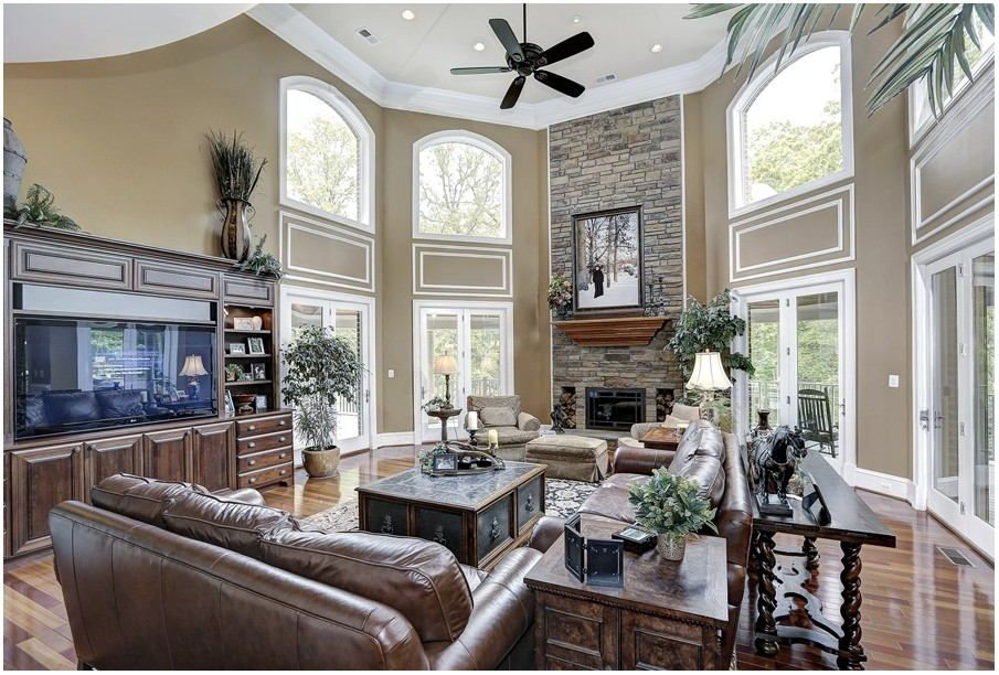 painting ideas living room high ceiling high ceiling on paint ideas for living room id=37811