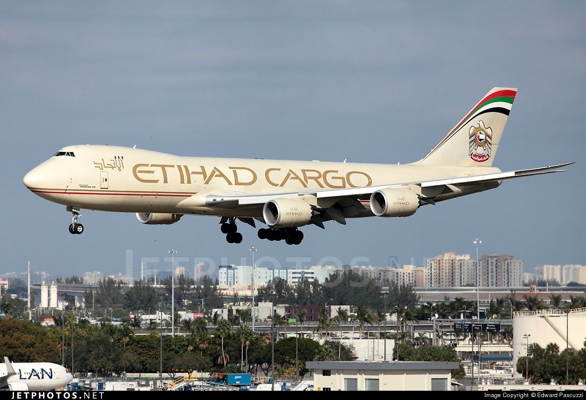 Boeing 747-87UF N855GT 37567 Miami Int'l Airport - KMIA