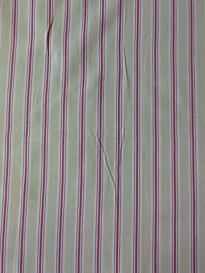 fryetts Bay Stripe design in Sorbet by the half metre 100% cotton