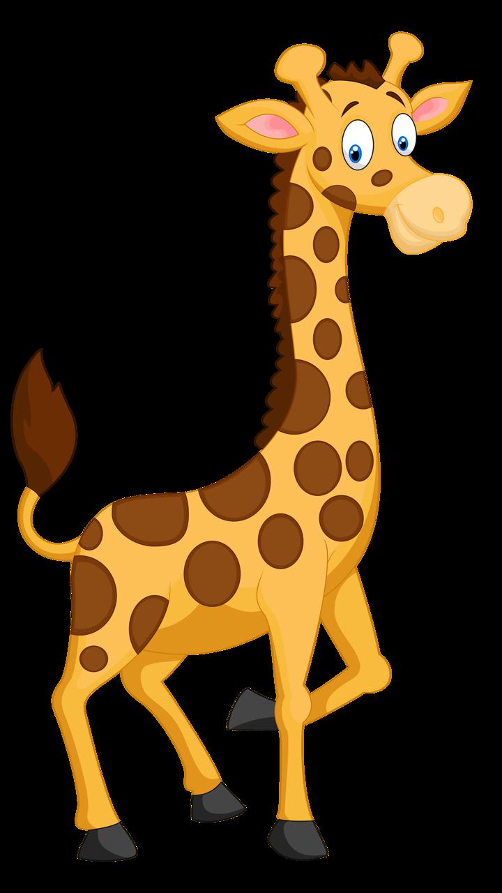 Картинки жирафа для детей нарисованные