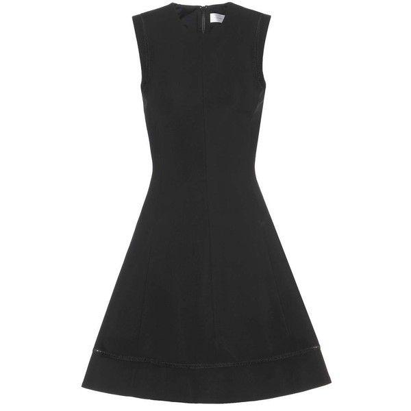 Victoria Beckham A Line Dress ($2,150) ❤ liked on Polyvore featuring dresses, victoria beckham, victoria beckham dresses, a line silhouette dress and a line dress