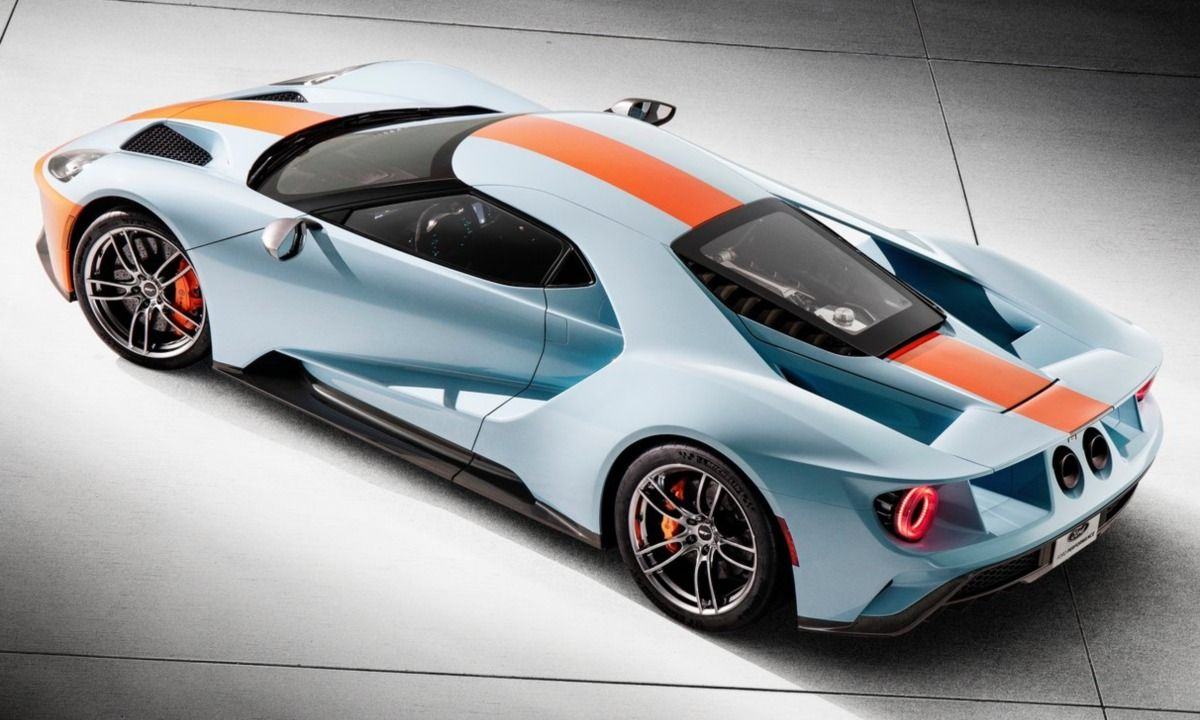 2019 Ford Gt Heritage Edition Celebrates The Gt S Le Mans Win Http