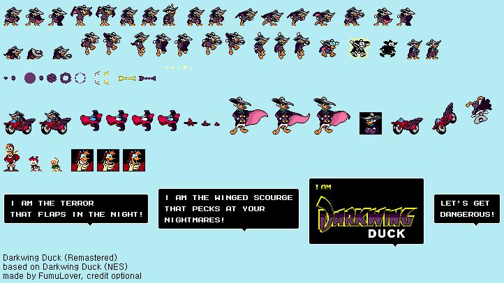 Darkwing Duck (NES) - Darkwing Duck (Remastered) by FumuLover.deviantart.com on @DeviantArt