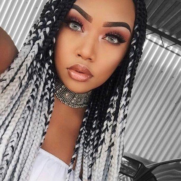 Box Braids Hairstyles 2018 [Medium, Jumbo, Bob ...
