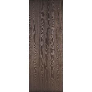 Masonite Legacy Textured Flush Hardwood Bored 20 Minute Rated Solid Core  Walnut Veneer Composite Interior Door   The Home Depot