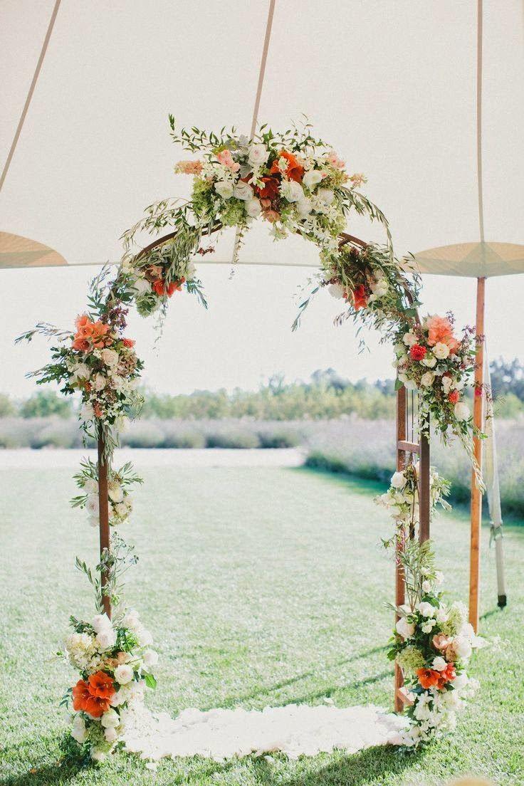 arcos para bodas al aire libre