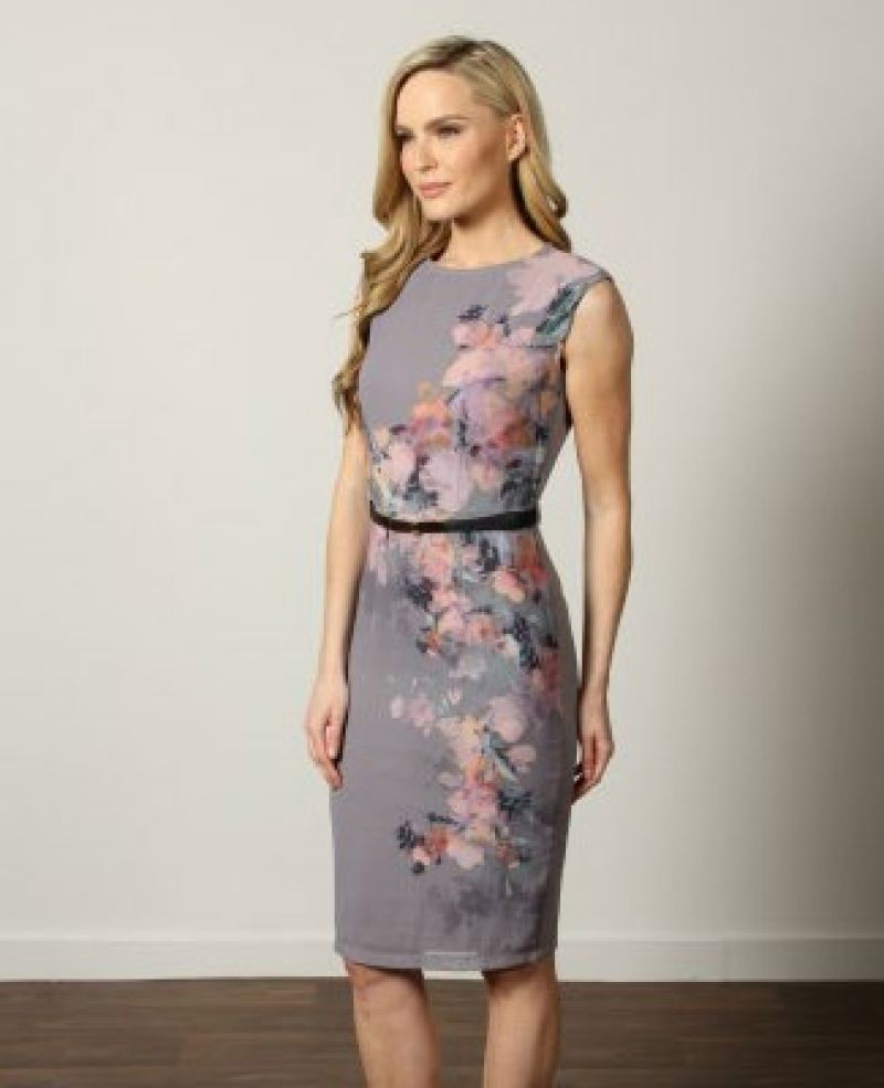 bcae725bd6e Top 10 Wedding Guest Dresses Under £100 You Can Wear Again within Grey Dress  For Wedding Guest