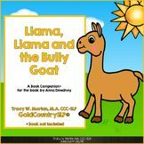 Llama Llama The Bully Goat Book Companion Tptclassro