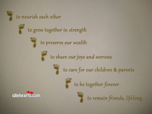 Tamil Quotes For Wedding Invitation: Seven Steps / Vows In The Hindu Wedding / Marriage