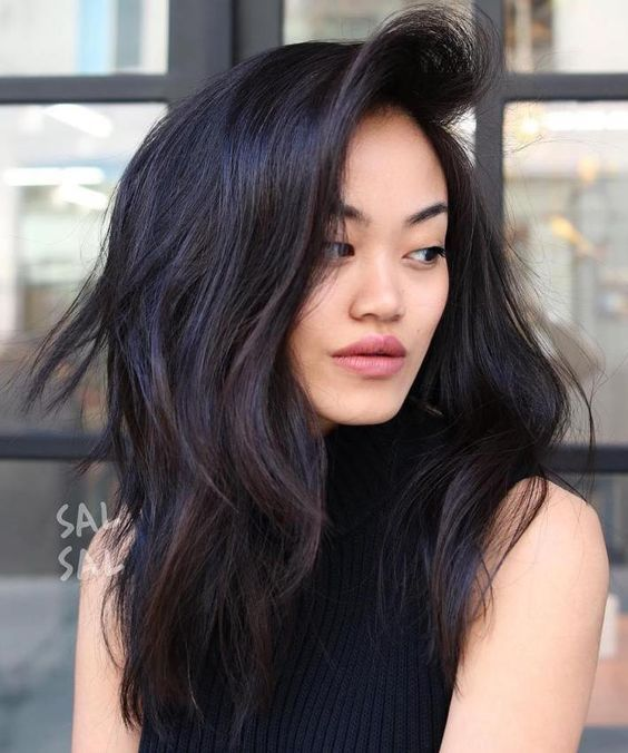Asian Long Layered Haircut Asian Hair Asian Long Hair Thick Hair Styles