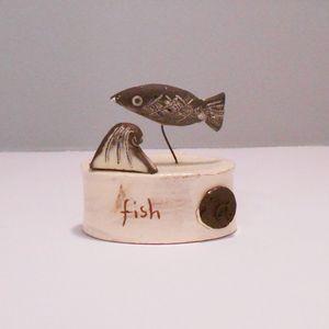 Fish on Plinth