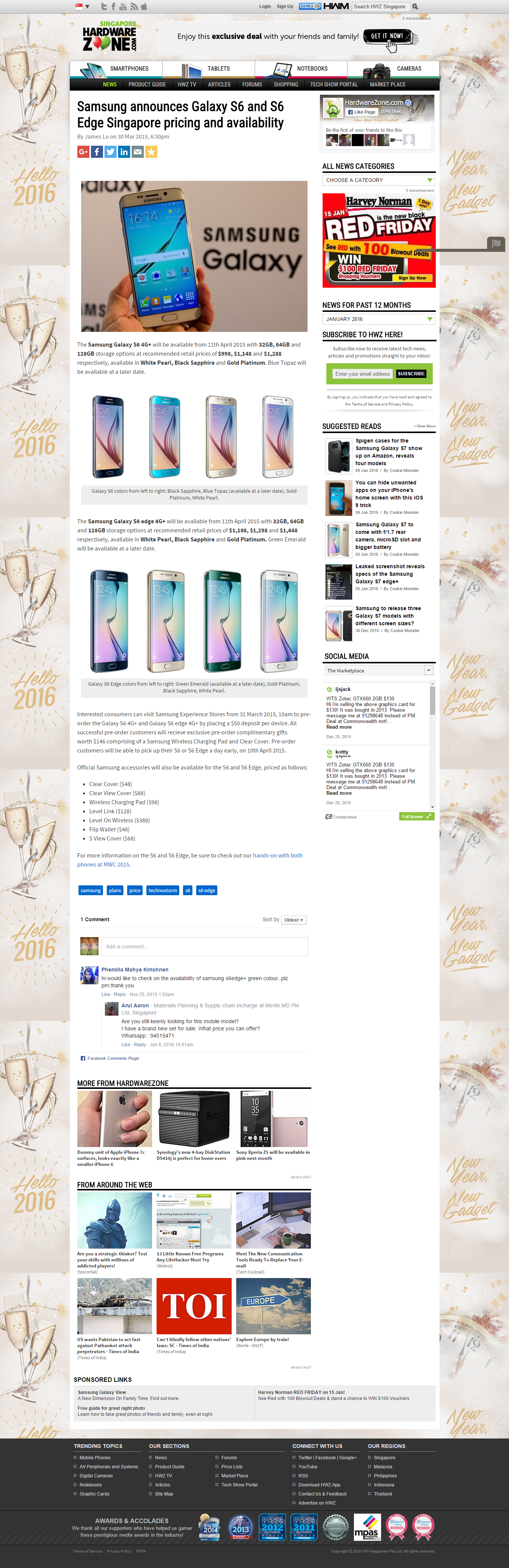 cool top 20 websites that sells samsung galaxy in singapore