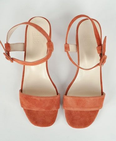 Copper Sophie Sandal by Maryam Nassir Zadeh