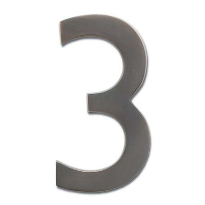 8 In Floating Mount House Number Architectural Mailboxes Floating House House Numbers
