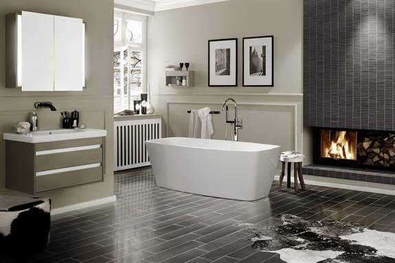 Rechthoekig Ontwerp Badkamer : Prachtige badkamertegels makeover