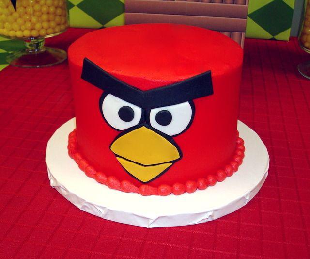Angry Birds Birthday Party Ideas Con Imagenes Torta Para