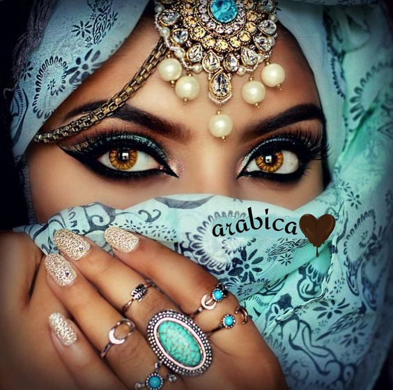 Pâvaï Accessoire Indien pour cheveux Maquillage Yeux