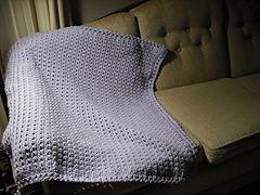 Ravelry: Lilacs in February Baby Blanket pattern by Cindy Van Den Toorn