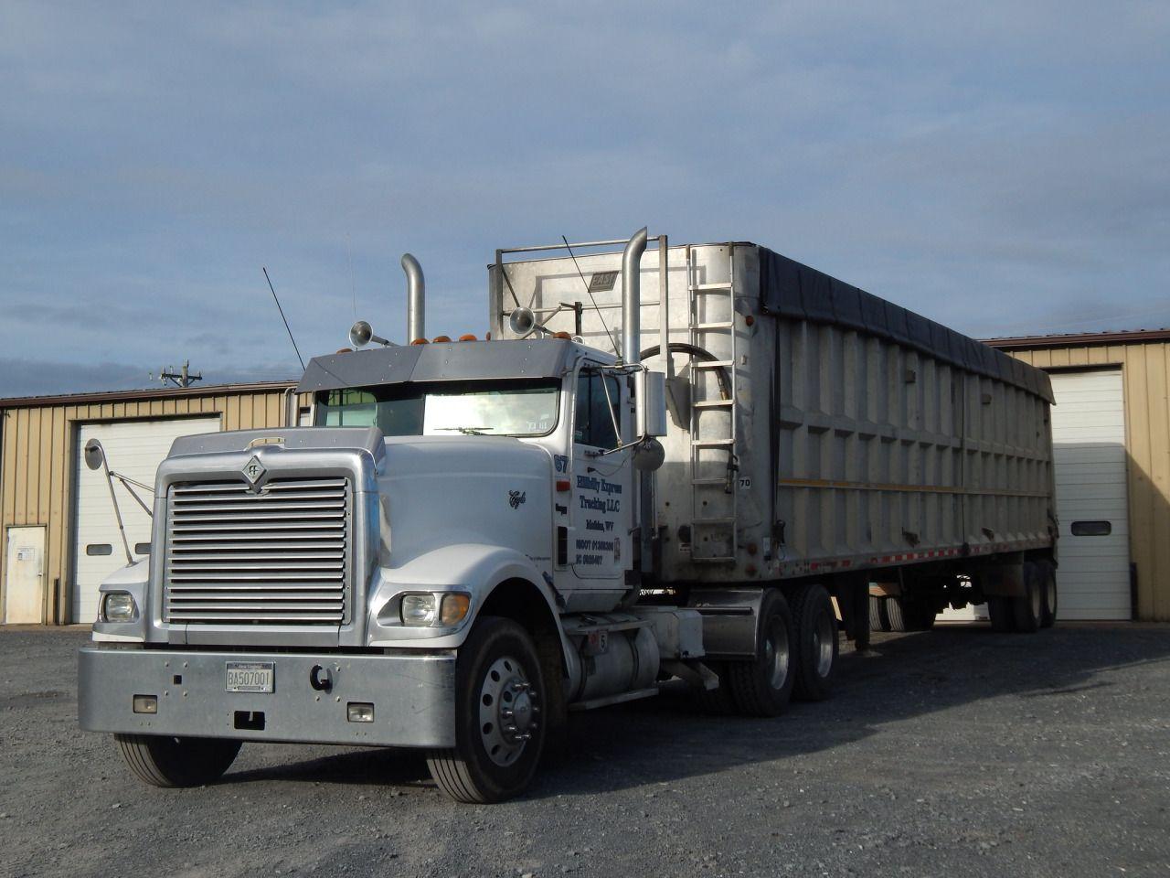 International Harvester Trailers : International eagle custom semi trucks trailers