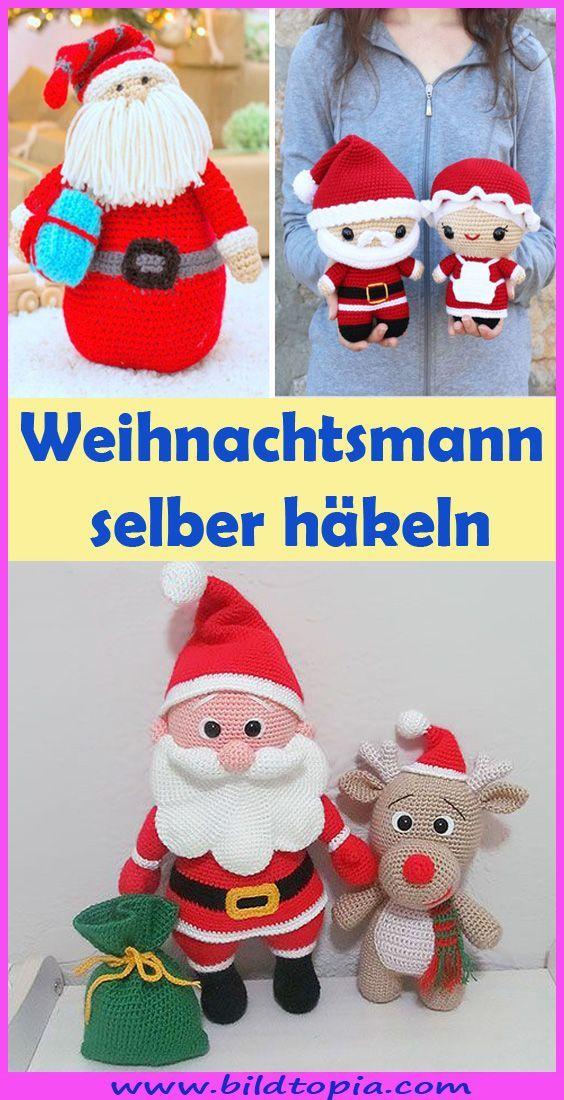 Photo of Mit dieser gratis DIY Anleitung kannst du einen fröhlichen Amigurumi Weihnachts…
