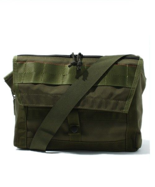 "b4b11a2d45 BEAMS PLUS   BRIEFING×BEAMS PLUS   別注 ""Fleet Messenger Bag ..."