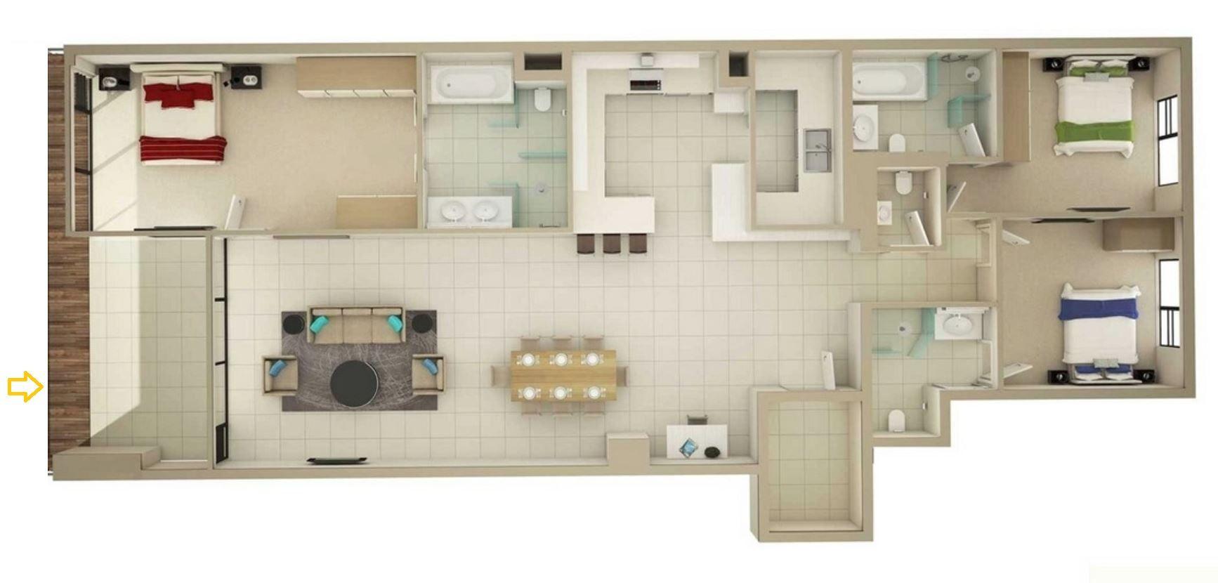 Planos De Casas Angostas Y Alargadas Casas Pequeñas House Plans