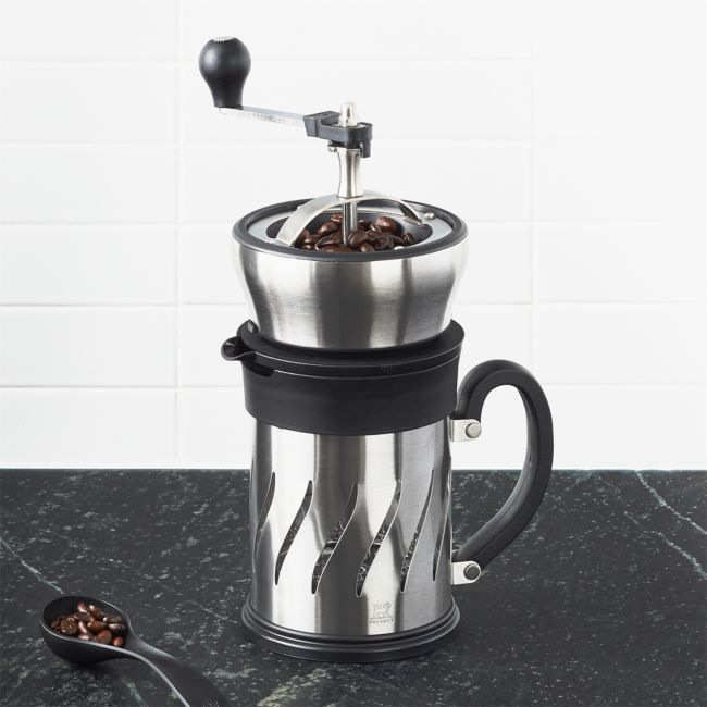 Peugeot Paris Coffee Press and Mill | Crate and Barrel