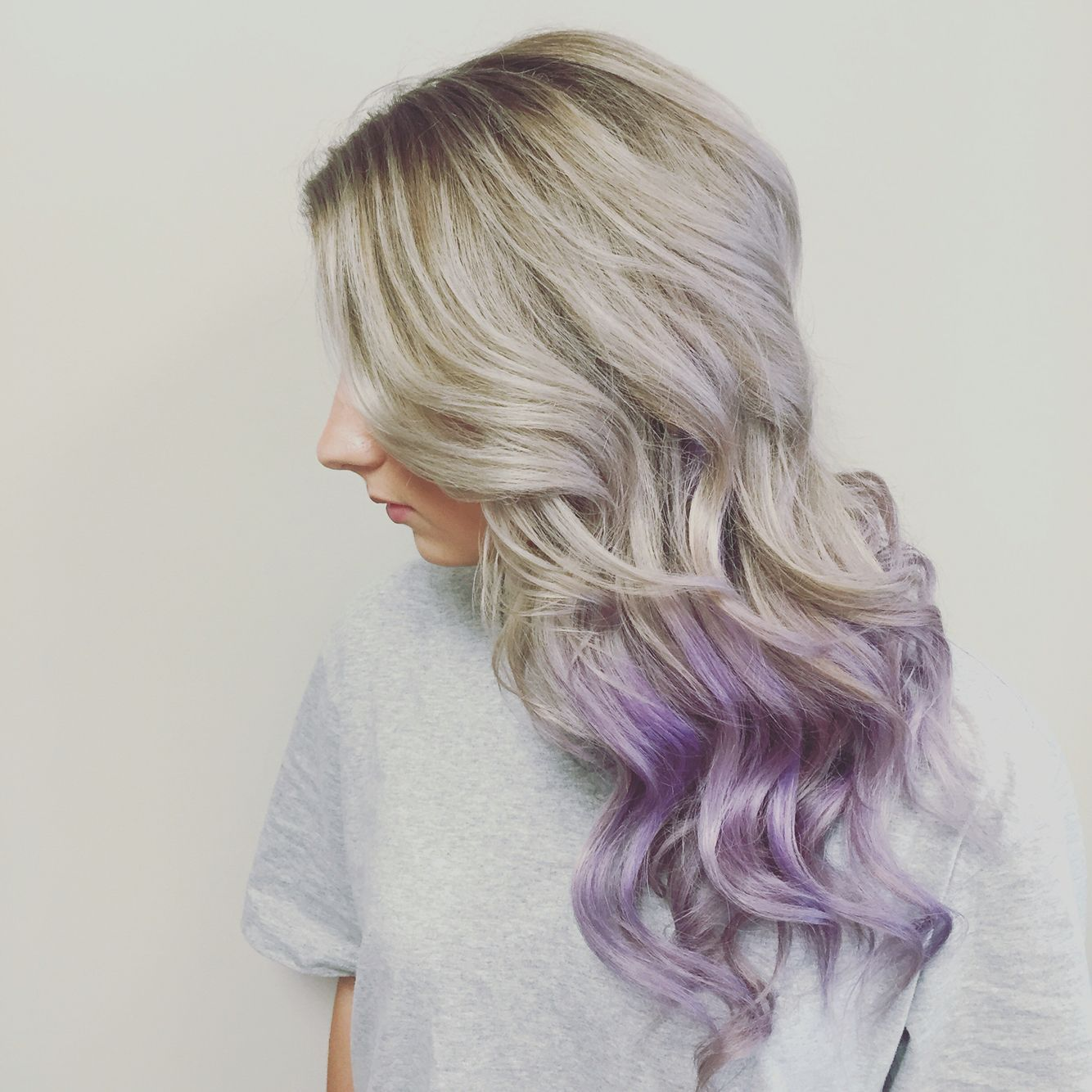 Sliver Lavender Ombre On Me Lavender Hair Ombre Blonde Hair With Purple Tips Lilac Hair