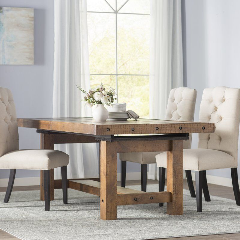 Etolin 6 Piece Extendable Dining Set Extendable Dining Table
