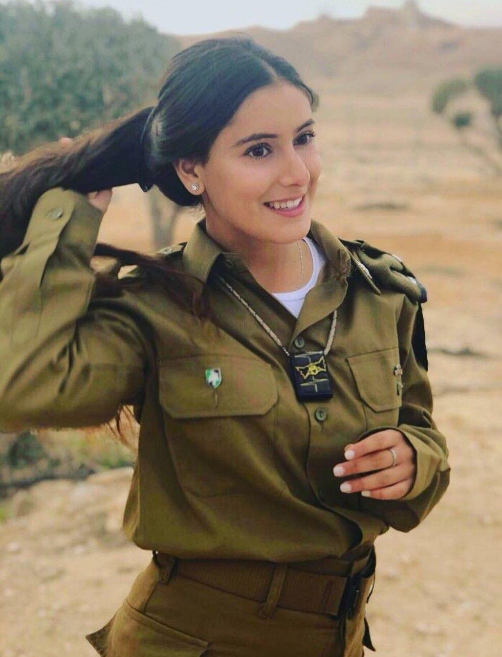 Idf - Israel Defense Forces - Women  Beautiful Military Women Of -4668