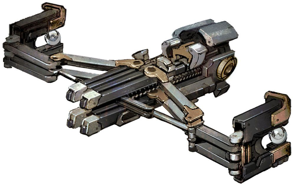 Dead Space 3 Rifle Line Gun, Dead Space 3...