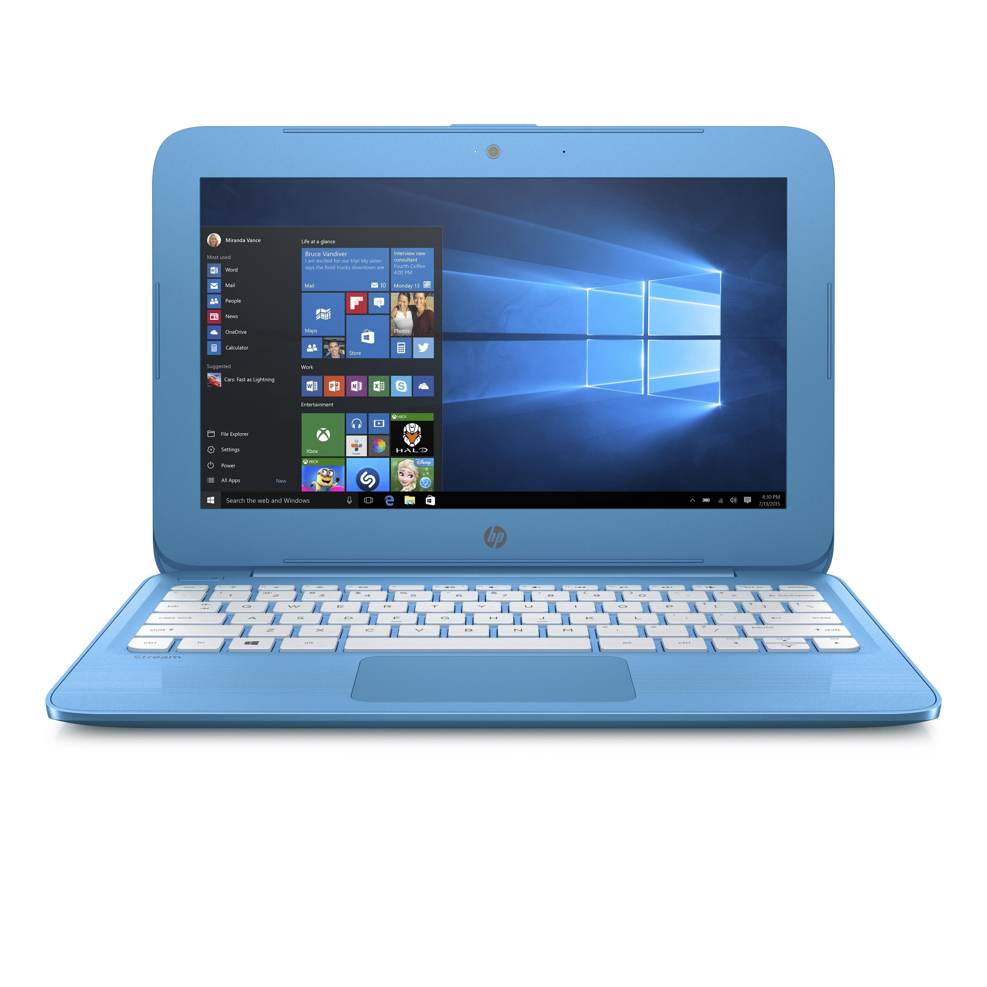 Hp Stream 11 Ah111wm 11 6 Inch 2017 Celeron N4000 4 Gb Hdd 32 Gb In 2021 Hp Laptop Laptop Computers Pc Laptop