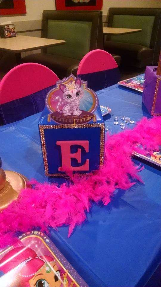 Shimmer And Shine Birthday Party Ideas In 2019 Bday Party Party