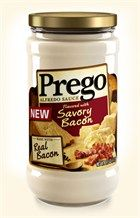 Alfredo Sauce Flavored with Savory Bacon. MUST TRY!!!