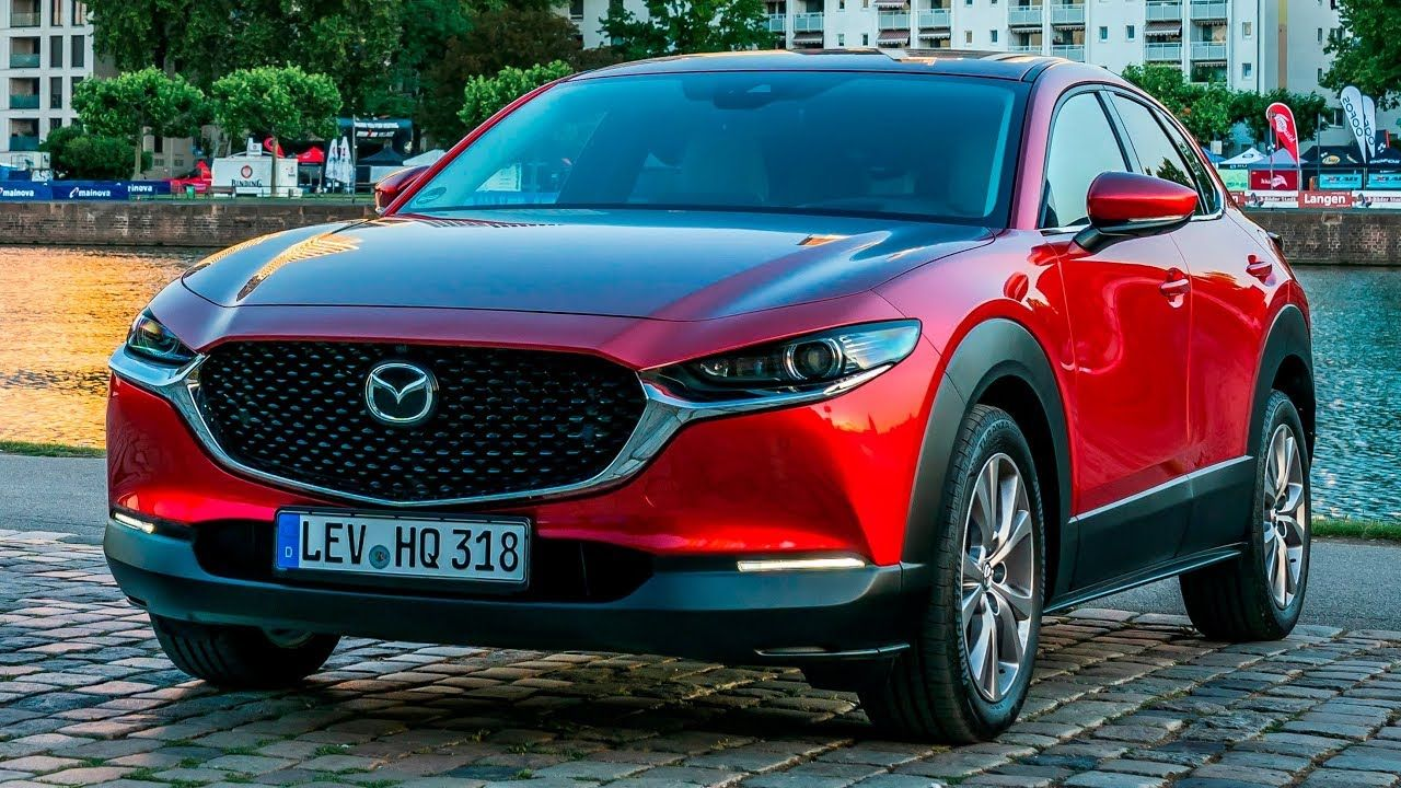 The compact SUV enters a new market segment for Mazda. At