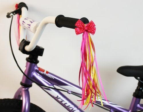 Bike Handlebar Streamers Kid S Bicycle Bow Design Streamers