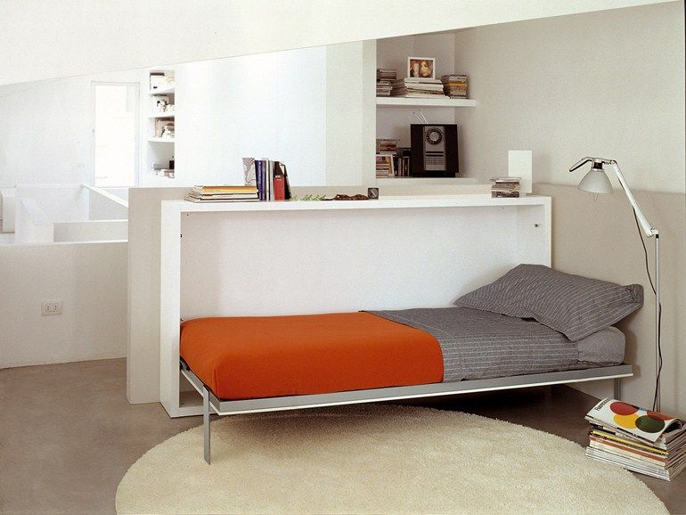 Pull Down Single Bed Poppi Desk By Clei Dizajny Krovati