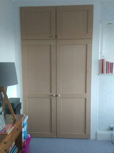 New Shaker Style Wardrobe Doors Made From Mdf By Me Www