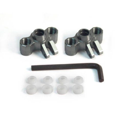 ST Racing Concepts STA80083US Aluminum Heavy Duty Upper Suspension Links for The Axial Wraith Silver