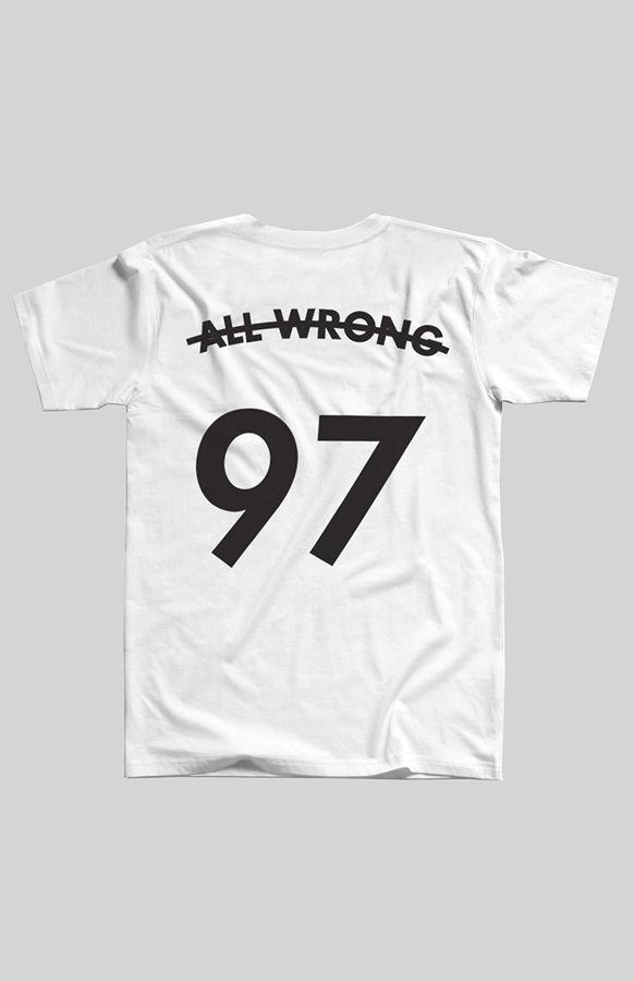 a4b16e53b71422 Huffer All Wrong Tee in White Premium Streetwear Online NZ