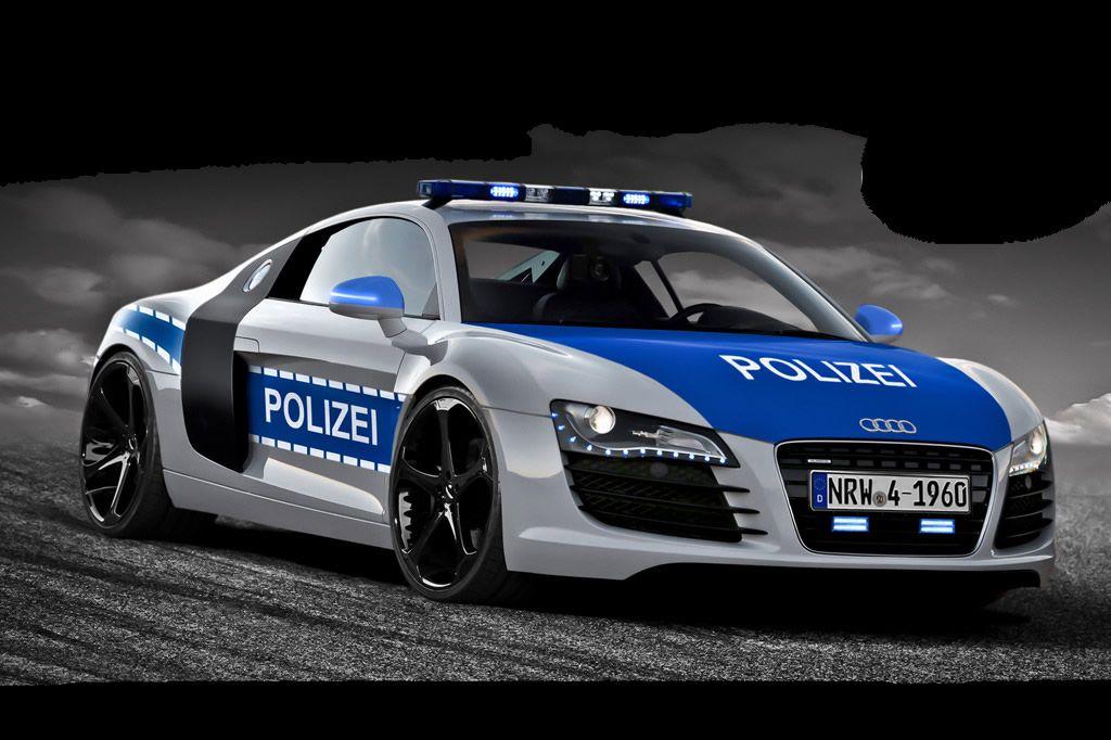 Polizei Kommt Direkt An 2 Stelle Nach Gott Police Cars Police Audi