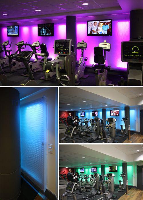 gym lighting gym home gym basement luxury gym gym lighting rh pinterest com