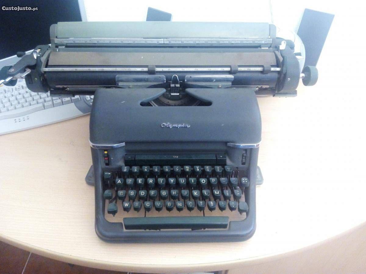 707f43b98a7 Maquina escrever antiga Olympia - à venda - Antiguidades e Colecções ...