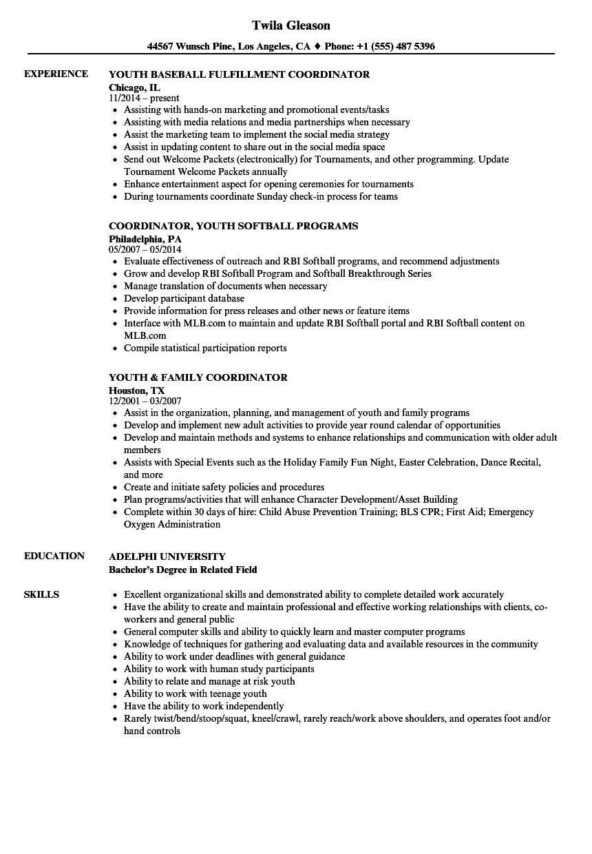 Resume Examples Youth Resume Templates Resume Examples Job Resume Template Job Resume Examples